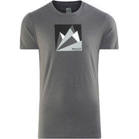 Millet Fan Mountain Short Sleeve Shirt Men tarmac